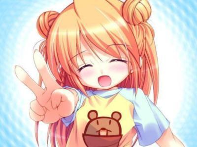 funn xd anime smile
