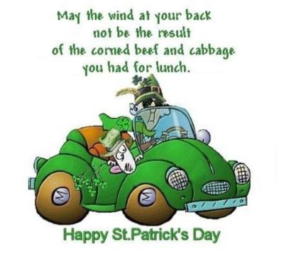 St. Patrick's Day Myspace Comments